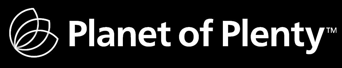 Planet of plenty logo